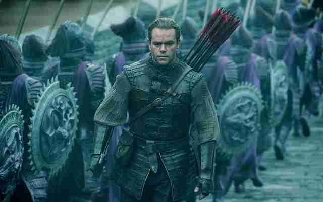 the great wall matt damon new movies 2017