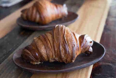 wood-fired croissants
