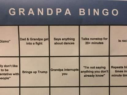 grandpa bingo