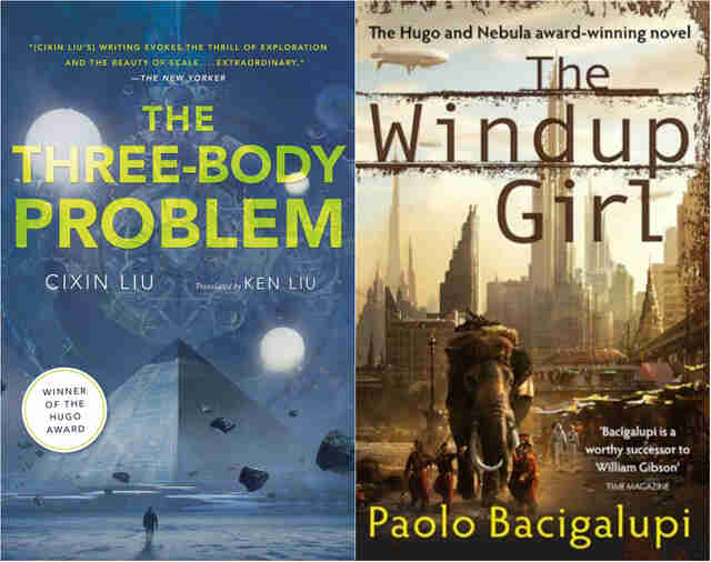 the three body problem and the windup girl