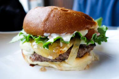WingHarts PGH Burger