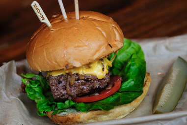Industry Public House burger