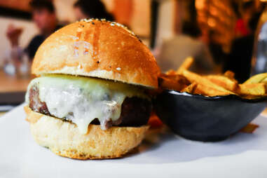 Butcher and the Rye PGH burger