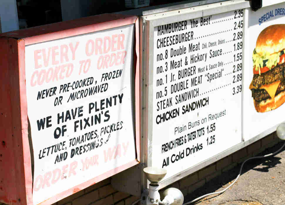 Keller's Drive-In Dallas Signs