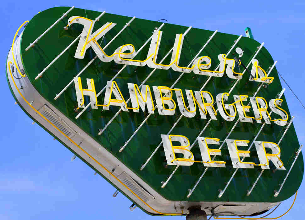 Keller's Drive-In Iconic Sign