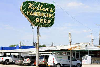 Keller's Drive-In Sign