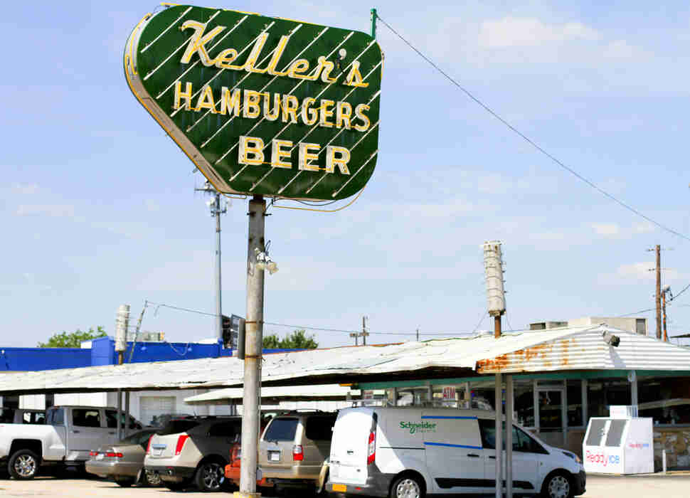 Keller's Drive-In Sign