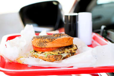 Keller's Drive-In Cheeseburger