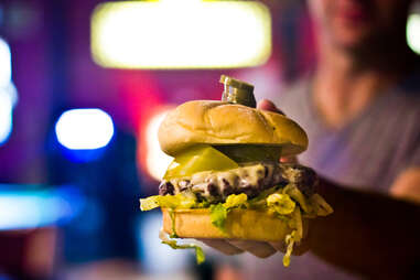 Halftime Rec Paddy Shack Burger