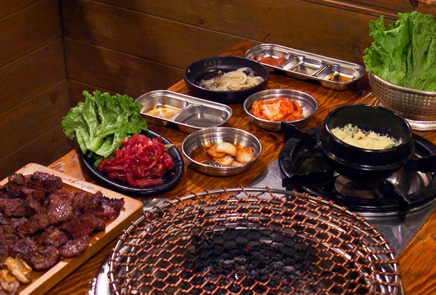 Inside Jongro, NYC's Most Popular Korean BBQ Spot With the Beef Platter to End All Beef Platters