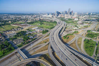 urban sprawl houston