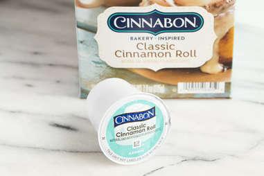 keurig k-cup cinnabon cinnamon roll flavored coffee kcup coffees