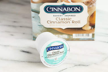 keurig k-cup cinnabon cinnamon roll flavored coffee kcup coffees