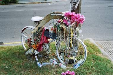 ghost bike nola