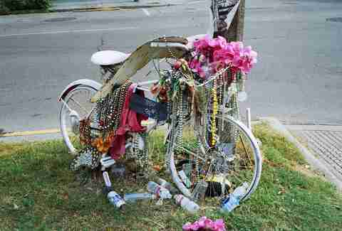 ghost bike nola