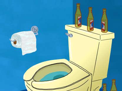 booze + poop