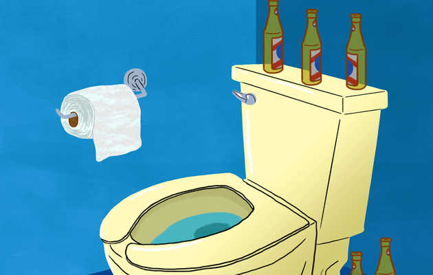 Why Booze Makes You Poop