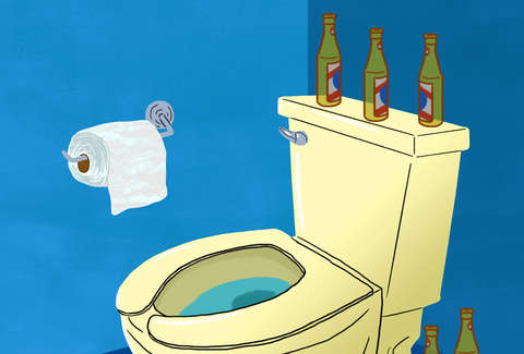 Why Does Drinking Alcohol Make You Poop? - Thrillist