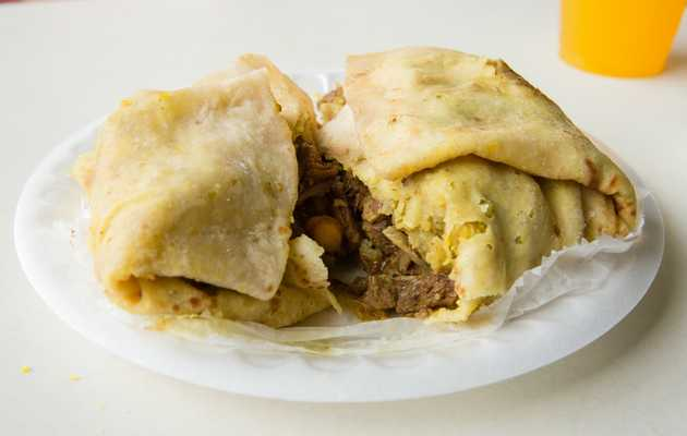 The Best Thing We Ate for Under $10 This Week: $8.50 Curry Goat Roti at Gloria's