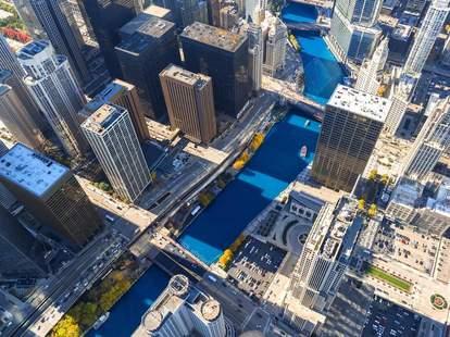 chicago river beautiful photos