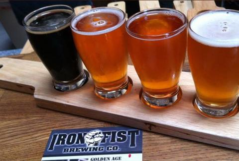 Iron First Brewing Co. Barrio Logan