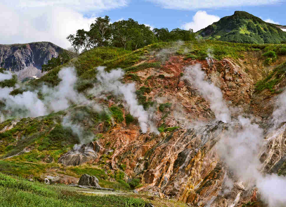 Russia, Kamchatka, Valley of Geysers