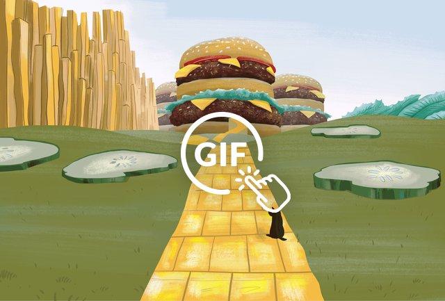 Burger Quest Illustration