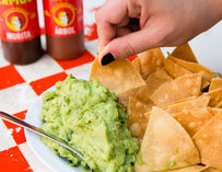 Tacombi New York SoHo chips and guacamole