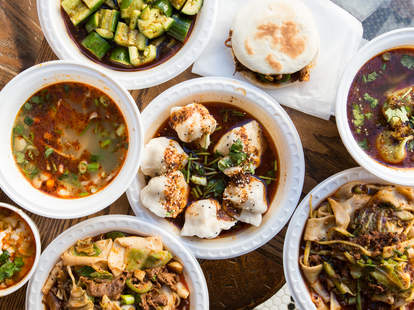 xi'an famous food, new york