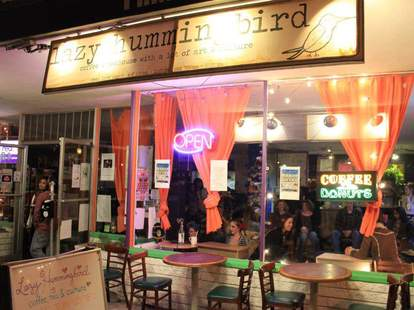 Lazy Hummingbird Coffee & Tea House San Diego