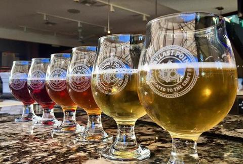 Ballast Point Tasting Room & Kitchen San Diego