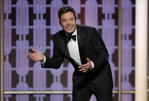 jimmy fallon golden globes opening fail