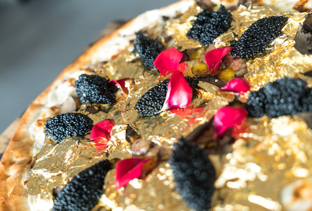 Would You Pay $2,000 for a Pizza Topped With 24-Karat Gold?