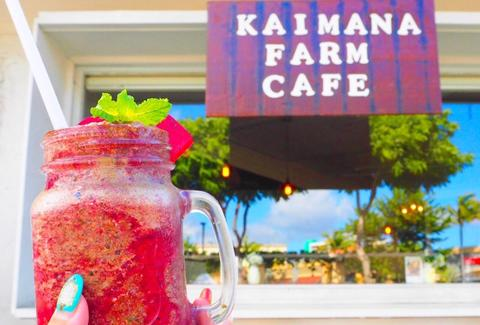 Kaimana Farm Cafe Honolulu