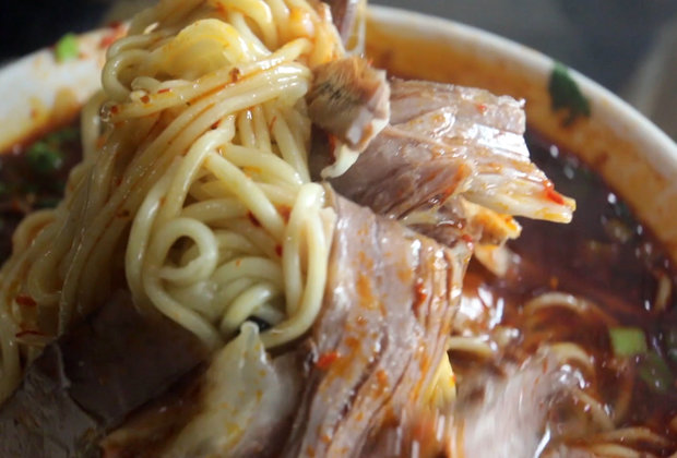 Behold Lanzhou's Beautiful Hand-Pulled Beef Noodles