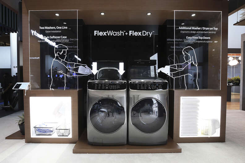samsung flexwash and flexdry machine