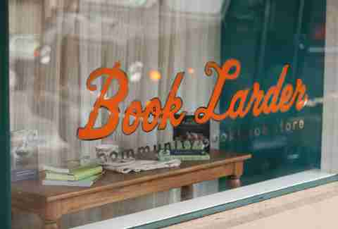 Book Larder: A Community Cookbook Store