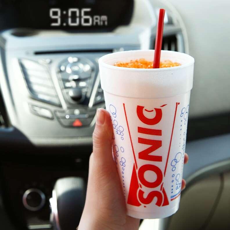 Sonic drinks