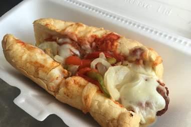 meatball sandwich from jimmy's food store