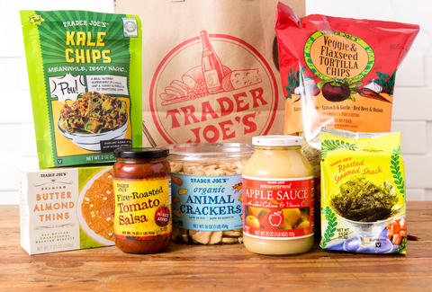 Trader Joe's healthy snacks