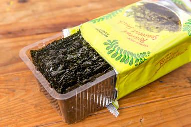 Trader Joe's seaweed snack