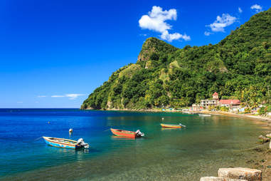 Soufriere Bay, Dominica
