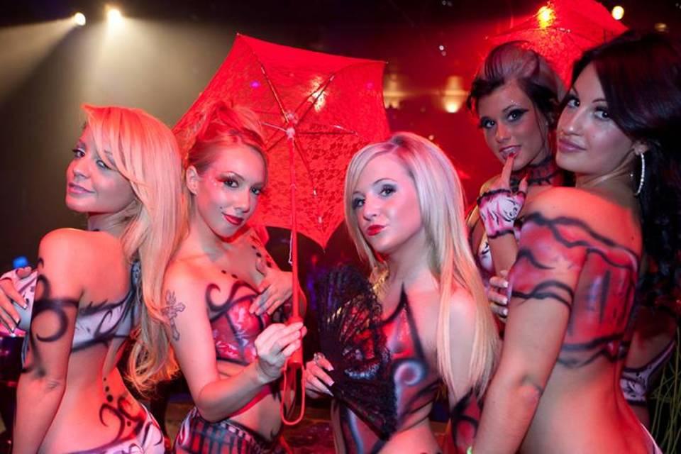 club strip night ladies