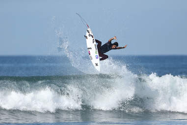 Lower Trestles Surfer
