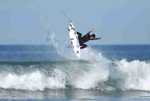 Lower Trestles Surfer