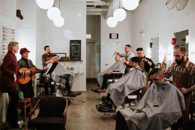 The Public Barber