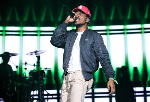 chance the rapper, who's headlining Boston Calling 2017's lineup