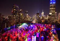 Escape the Freezing Weather This Weekend in NYC's Best Enclosed Rooftop Bars