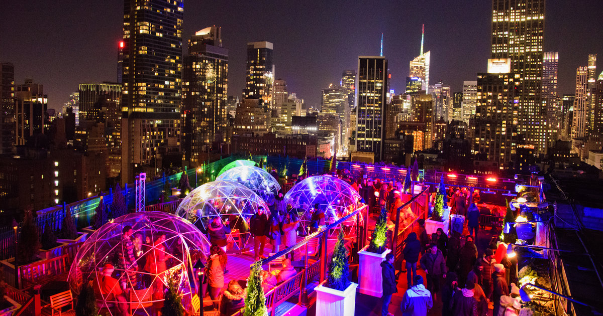 Rooftop Bars In Nyc Open In Winter Best Indoor Amp Heated