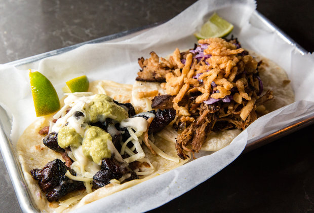 The Best Thing We Ate for Under $10 This Week: $4.75 Filipino Tacos From Swell Dive